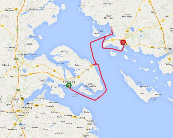 Von Hafen zu Hafen in Dänemark